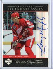 Larry Murphy - 2004-05 Upper Deck Legends Classics Autograph Auto - Redwings