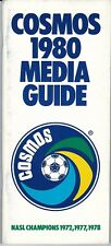 1980 New York Cosmos Media Guide, soccer, North American Soccer League.