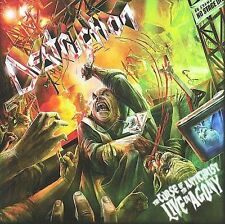 The Curse of the Antichrist: Live in Agony DESTRUCTION 2 CD SET