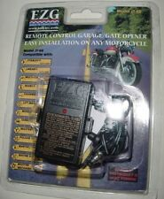 EZG SMALLEST REMOTE MOTORCYCLE BOAT CONTROL GARAGE GATE OPENER FCC APPROVED NEW