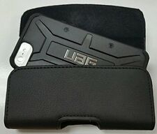 For T-MOBILE LG K30  XL BELT CLIP LEATHER HOLSTER FITS A UAG CASE ON PHONE