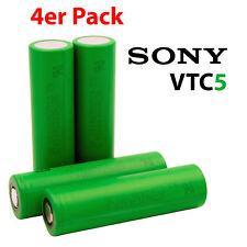 4x Sony Konion VTC5 Akku - 4 Stück US18650VTC5 18650 Batterie Zelle 2600mAh 30A