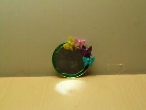 dollhouse miniature Butterfly mirror