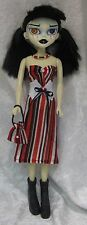 BeGoths BLEEDING EDGE Gothic Doll Clothes #32 Dress, Corset, Purse, Necklace