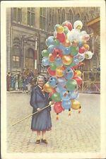 Côte d'Or - Belgian Folklore, 2nd Series, Large - 218 - Mons - Selling Balloons