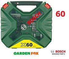 savers choice Bosch DIY X 60Bit SCREWDRIVER/DRILL SET 2607010611 3165140563178