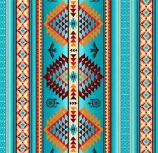 Tucson Southwest Aztec Dream Catcher Eagle Turquoise Cotton Fabric Fat Quarter