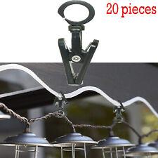 Super RV Designer ,Klippy Klip,Awning Hanger Clips for Rope Lights, 20 Per Pack