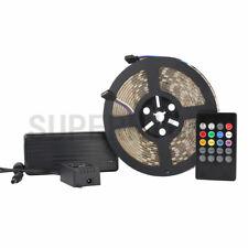 5M RGB 300LEDs 5050 SMD IP65-Waterproof LED Strip Light+20Keys Controller+Power