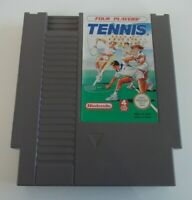 TENNIS  NINTENDO NES VIDEO GAME CARTRIDGE ( TESTED AND WORKING ) PAL A