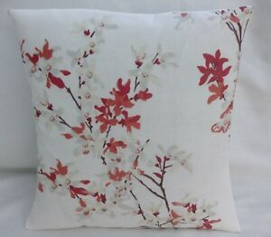 "Laura Ashley Designer Cushion Cover ""FORSYTHIA"" Rosehip Various Sizes"