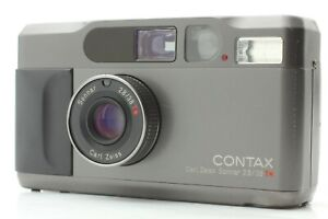 Read 【Exc+++】 Contax T2 Titan Black 35mm Point & Shoot Film Camera From JAPAN