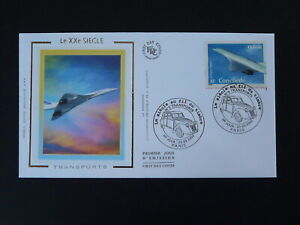 aviation aircraft Concorde FDC 100344