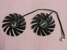 95mm MSI GTX 960 970 980 GAMING Dual Fan PLD10010S12HH 6Pin DC 12V 0.40A R189b