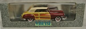 VITESSE 1947 CHRYSLER T & C CLOSED CABRIOLET - 491 - 1:43 SCALE -  BOXED.