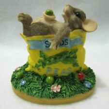 Fitz & Floyd Charming Tails Figurine One For Me 87360 Mouse