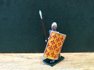 Wiepla or similar: A fine 14th century knight on foot. 54mm Metal model