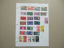 10c stamps Small collection of 27 Gb stamps.378-395