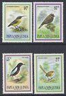 1993 PAPUA NEW GUINEA SMALL BIRDS SET OF 4 FINE MINT MUH/MNH