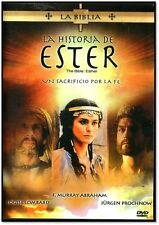 LA BIBLIA: LA HISTORIA DE ESTER - DVD NEW AUDIO ONLY ESPANOL FACTORY SEALED