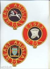 MASONIC REGALIA-KNIGHTS of MALTA-PRIORY OFFICER'S MANTLE BADGES