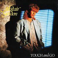 "ALISTAIR GORDON touch and go/nightmares RAIN 1 uk rainbow 1985 7"" PS EX/VG+"