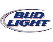 Bud Lite Beer Logo Edible Party Cake Image Topper Frosting Icing Sheet
