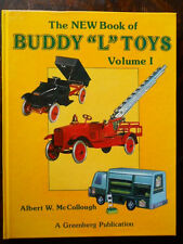 BUDDY L TOYS VOL.1 GREENBERG PRICE GUIDE, MINT CONDITION SIGNED BY THE AUTHOR