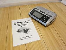 Midland Weather Alert Radio All-Hazard with AM FM Radio SAME WR-300 WX Warning
