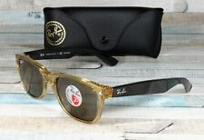 RAY BAN RB2132 945 57 New Wayfarer Honey Brown Polarized 55 mm Mens Sunglasses