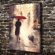 Red umbrella Paintings HD Print on Canvas Home Decor Wall Art Picture posters