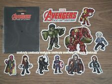 Hot Toys Marvel Avengers Age of Ultron Plastic Stickers Artist Mix Figure Touma