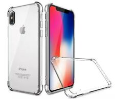 APPLE IPHONE X INVISIBLE BUMPER HYBIRD CASE ULTRA THIN AGUA CLEAR