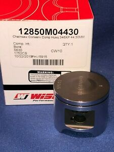 Husqvarna 346xp NE pop up piston by Wiseco 44.3mm bore