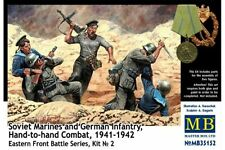 MasterBox MB35152 1/35 Soviet Marines and German Infantry Hand-to-hand Combat