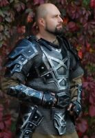 Medieval Armor FULL SUIT Dwarf Blackened Halloween Costume Cosplay LOTR