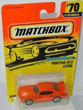 Matchbox #70 Superfast 1996 - PONTIAC GTO JUDGE - orange