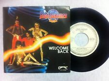 + 45 GIRI VINILE PETER JACQUES BAND WELCOME BACK/THE LOUDER NUOVO D'EPOCA