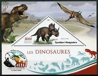 Madagascar 2019 MNH Dinosaurs Agujaceratops 1v S/S Prehistoric Animals Stamps