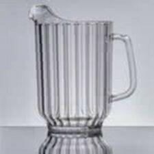 60 Oz. (3 cs Of 6) Camwear - Cambro Clear Pitcher - 3 Case Blowout Sale $5/Each