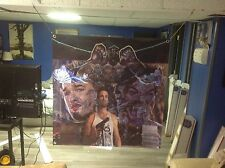 HUGE 36x36 BIG TROUBLE IN LITTLE CHINA vinyl banner poster FILM kurt russell ART