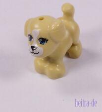 LEGO Friends - Hund klein sandfarben bedruckt ( Tan / Beige ) 93088pb03 NEUWARE