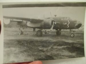 *PHOTO* B-25 Mitchell Bomber in Combat ~ 345th BG Air Apaches ~ Excellent