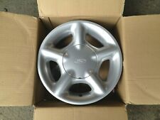 "1 x Ford 13"" RS COSWORTH Design Ruota in Lega d'Argento * Autentico * (ESCORT e ORION)"