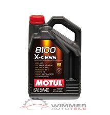 1x 5 Liter MOTUL 8100 X-cess Motoröl 5W40 Motorenöl Öl 50200 50500 229.5 RN 0710