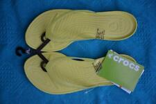 Crocs Comfort Thongs. Really Sexi Flipflop NEON. Slip on. Size 11 NEW rrp$29.99