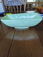 Vintage Mid Century Planter Light Green Roseville Cookson USA Pottery CP 21