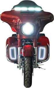 Custom Dynamics LED Lower Fairing Vent Light Inserts 14-20 Harley Touring FLHTK