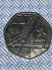 50p commonwealth games Glasgow 2014 fifty pence coin Un-circulated