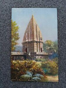 Tucks Oilette Temple At Ramnagar, Benares Postcard, Wide Wide World Series 7239.